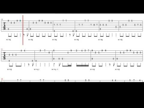 Guitar Tablature Love Story Andy Williams