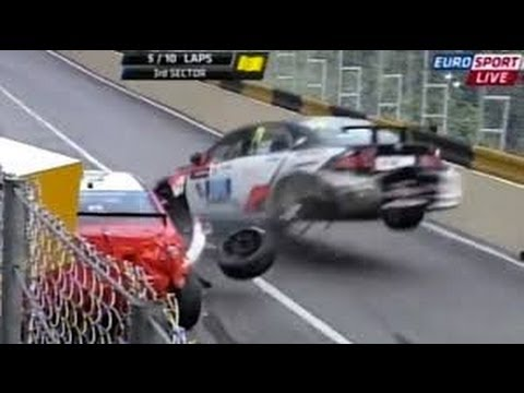 RED - Motorsport Crashes - The best red flag crashes 2013 so I watch a lot of motorsport crashes compilations but none of them have really covered the really big o...