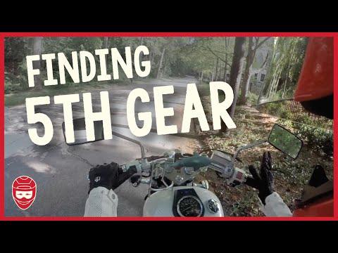 FINDING 5th GEAR | Suzuki S40 Boulevard | LS650 Savage | Beginner Rider Mystery Solved