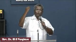 Malayalam Message On 'Romans 4:18' - Rev. Dr. M A Varghese
