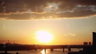 Nonton Beautiful Sunset With Clouds In The City On The Bridge And Sea Background  1920x1080 Film Subtitle Indonesia Streaming Movie Download