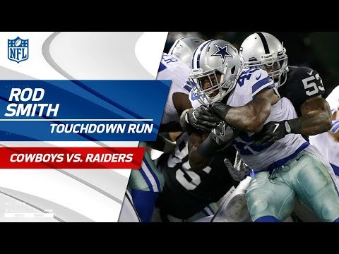 Video: Rod Smith's Strong Run Finishes Off TD Drive vs. Oakland! | Cowboys vs. Raiders | NFL Wk 15