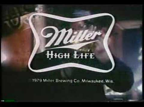 Vintage Miller Time Beer Commercial