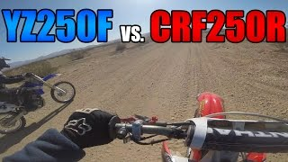 9. 2006 YZ250F vs 2006 CRF250R