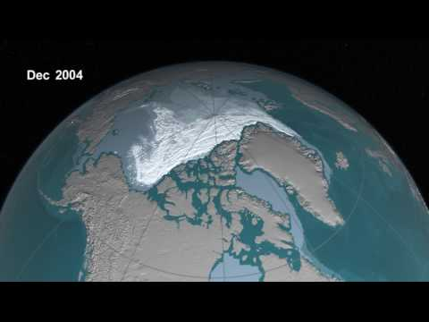 How Arctic sea ice is disappearing
