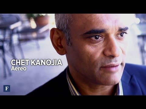 Why Start Another Company? Aereo's Chet Kanojia