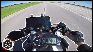 9. Yamaha R3 TOP SPEED CHALLENGE