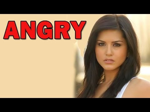 Sunny Leone gets angry! | Bollywood News 25 October 2014 09 PM