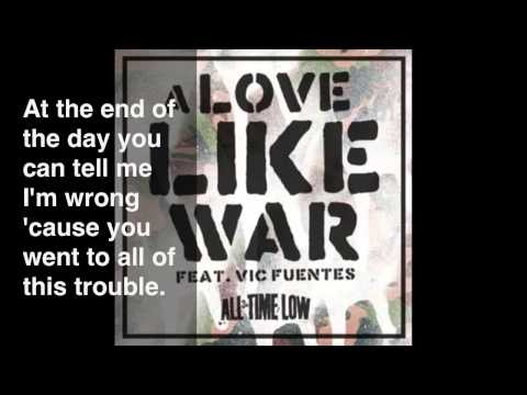Donwload Lagu All Time Low - A Love Like War
