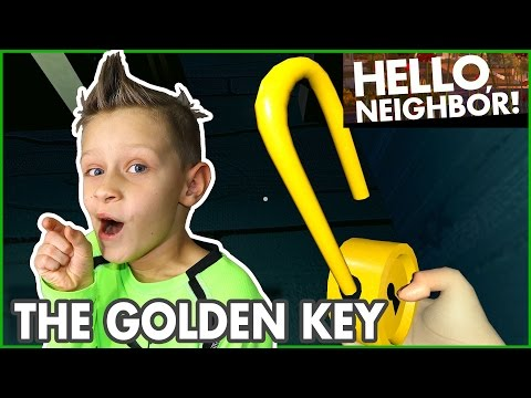 Video I Found the Golden Key / Hide and Seek / Hello Neighbor Alpha 3 download in MP3, 3GP, MP4, WEBM, AVI, FLV January 2017