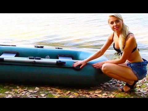 резиновая лодка барк видео
