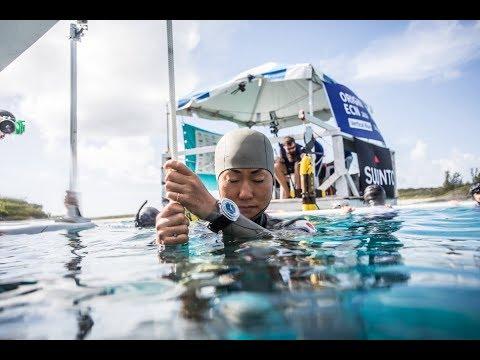Nainen sukeltaa melkein 100 metrin syvyyteen ilman happilaitetta – Hurja suoritus!