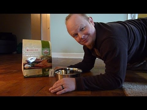 Trader Joe's Dog Food…For People Instructional Video and Food Review