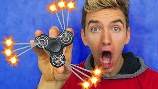 1000MPH FIDGET SPINNER (SPARKLER MOD!!)