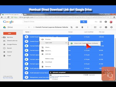 Video Create the Direct Download Link from Google Drive's Files or Folders download in MP3, 3GP, MP4, WEBM, AVI, FLV January 2017