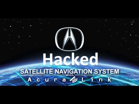 How to hack/mod navigation system Acura TL (видео)