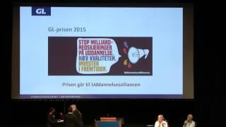 Følg med live på mandag d. 23/11 kl. 10-12 i GL's repræsentantskabsmøde - den åbne del: Elever fra Solrød Gymnasium...