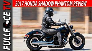 7. 2017 Honda Shadow Phantom Review and Specs