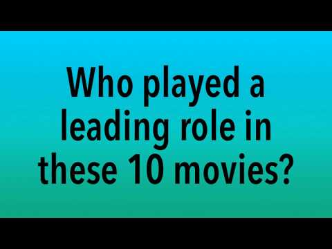 Who played the leading roles in these movies?