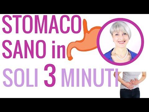 stomaco sano in 3 minuti - rimedi naturali