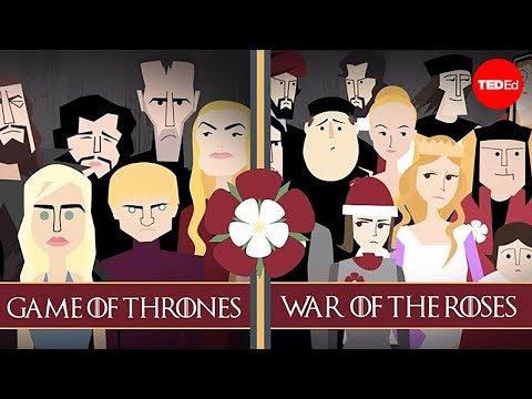 game of thrones -  lannister vs stark / lancaster vs york