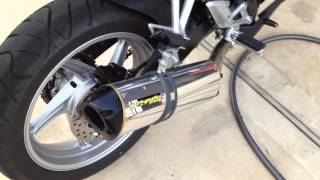 3. 2012 Honda CBR 250R Two Brothers Exhaust without Power Tip