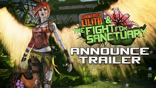 Borderlands 2: Commander Lilith & the Fight for Sanctuary Official Trailer