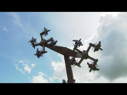 Un manège en forme de croix gammées choque l'Allemagne