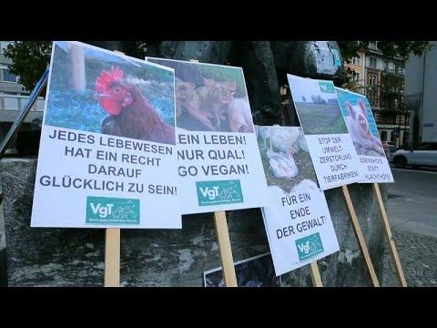 Διαδήλωση για τα δικαιώματα των ζώων