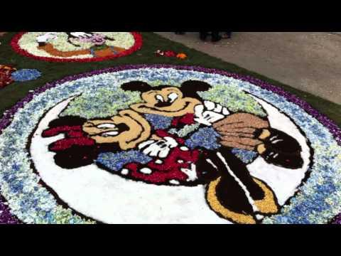 Corpus en Mañufe, las alfombras también florecen en esta parroquia