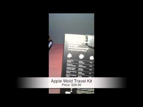 Unboxing & Hands On Review   Logitech Wireless Mouse & Apple World Travel Kit
