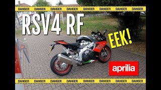 3. Aprilia RSV4 RF - 2018 - Full review - Suitable for the road?