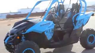 6. 2018 Can-Am Maverick Blue X XC