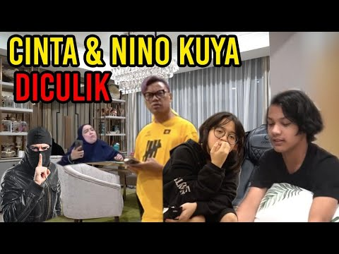 CINTA & NINO KUYA DICULIK❗ MAMA PAPA STRESS