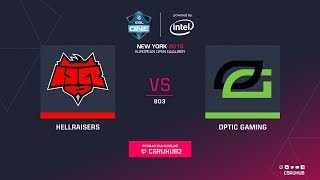 HellRaisers vs OpTic - ESL One NY EU Quals - map1 - de_overpass [GodMint]