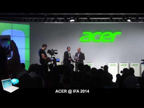 ACER IFA 2014 - Aspire Switch 11, Iconia One 8, Iconia Tab 10, Iconia Tab 8W, Aspire R13 and R14