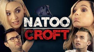 Video Natoo Croft - Avec Léa, Cyprien et Squeezie MP3, 3GP, MP4, WEBM, AVI, FLV Mei 2017