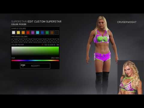 WWE 2K17   Charlotte's 'Real' Attires Formulas