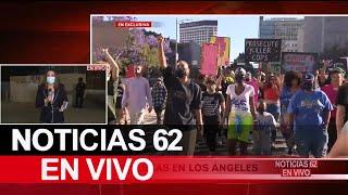 Fuertes protestas en Los Ángeles – Noticias 62 - Thumbnail