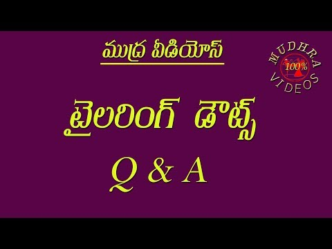 Video Question & Answers(Q&A) || MUDHRA VIDEOS || TAILORING CLASSES @Part 228 download in MP3, 3GP, MP4, WEBM, AVI, FLV January 2017