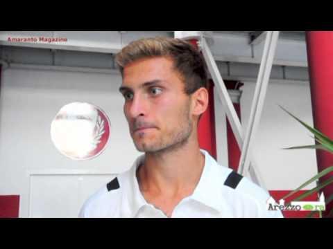 Arezzo-Prato 2-1, intervista a Madrigali