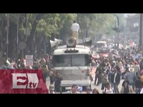 Sección XXII mantiene movilizaciones en Oaxaca