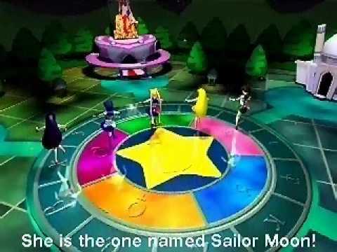 SAILOR MOON  ENGLISH OPENING - 3D Adventures of Sailor Moon Computer Game