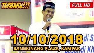 Video Ceramah Terbaru Ustadz Abdul Somad Lc, MA - Plaza Bangkinang, Kampar MP3, 3GP, MP4, WEBM, AVI, FLV Oktober 2018