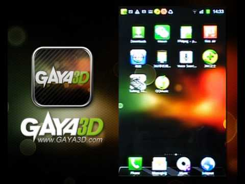 Video of Gaya3D Bubble Live Wallpaper