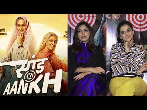 Interview With Taapsee Pannu & Bhumi Pednekar For Film Saand Ki Aankh