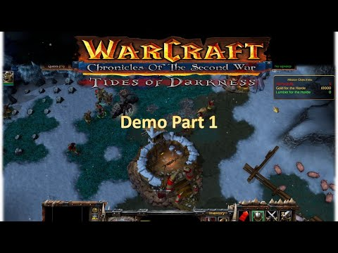 Warcraft 2 Remastered - Orc Campaign Demo Mission 1