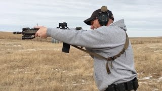 AR15 Rifle Combat Reload