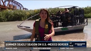 Summer is the deadliest time for undocumented immigrants. The Border Patrol is gearing up to help those risking their lives to cross from Mexico into the United States.