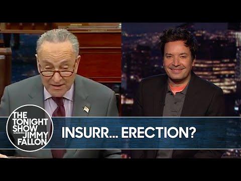 Sen. Chuck Schumer's Embarrassing Trump Flub | The Tonight Show